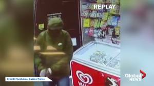 Armed robber scared off by girl throwing bread loaf
