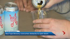 Coronavirus: Toronto brewery overcomes obstacles to open doors (01:57)