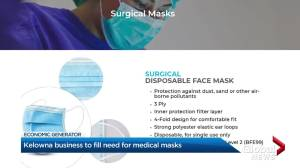 Kelowna company to manufacture medical masks