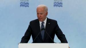 G7 agree to call out human rights abuses in Xinjiang, Hong Kong: Biden (01:02)