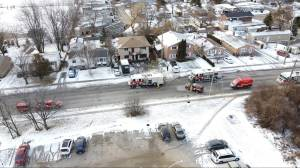 Kingston Fire and Rescue responds to blaze at Weller Avenue apartment building