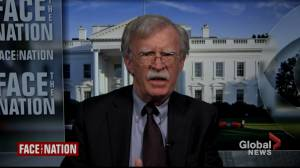 Former U.S. National Security Adviser John Bolton comments on current national security concerns, his new book