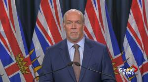 Horgan calls on B.C. celebs to help get COVID-19 message to young people