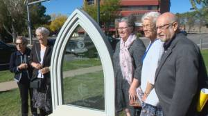 City of Lethbridge unveils monument for Sisters of St. Martha (01:41)