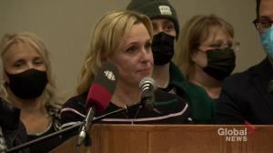 Edmonton mayoral candidate Kim Krushell concedes race (05:53)