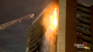 North-end Toronto apartment resident recalls 'towering inferno'