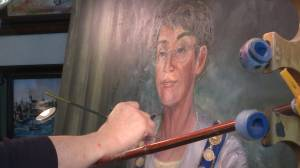 Nearly two decades after leaving office former Kingston Mayor Isabel Turner has her likeness finally captured on canvas (02:15)