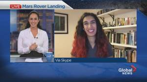 """Montreal-born engineer set to land Mars Rover """"Perseverance"""" (03:25)"""
