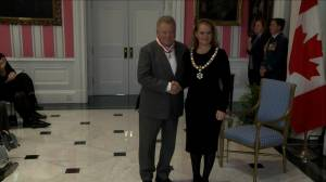 Canadian actor William Shatner receives Order of Canada