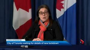 Coronavirus: Toronto still awaiting key details of added provincial restrictions (03:04)