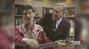 Global BC celebrates 60 years: k.d. lang sings with Jack Webster (01:48)