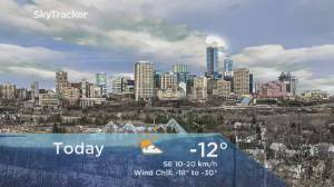 Edmonton early morning weather forecast: Wednesday, February 12, 2020