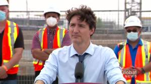 Trudeau says decision lies with U.S. on reopening border to Canadian leisure travellers (01:57)