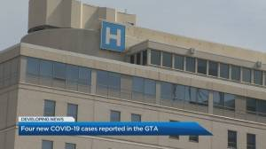 4 new COVID-19 cases reported in GTA