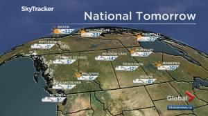 Edmonton weather forecast: Saturday, Feb. 27 (03:34)