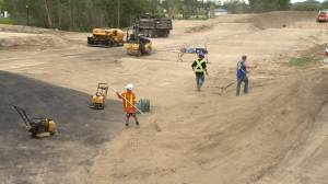 Diamond BMX track taking shape in Warman, Sask.