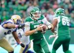 Riders-Bombers rivalry heats up ahead of CFL Western Final