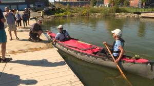 Kingston couple returns home after canoeing 8,515 kilometres across Canada for charity