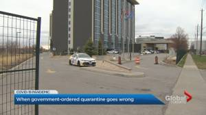 Travellers can avoid paying for Canada hotel quarantine (02:42)