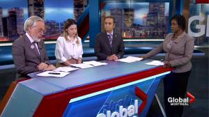 Focus Montreal economy debate part 1 (09:14)