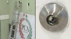 Calgary Pakistan community centre broken into, vandalized (01:42)