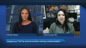 TikTok activist tackles mining contamination in Yellowknife (04:51)