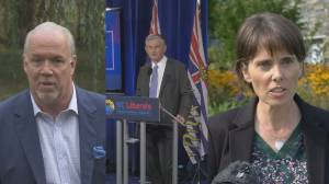 The BC NDP hold a commanding lead in final pre-election polls. (02:17)
