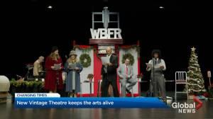 Kelowna's New Vintage Theatre keeps arts alive during pandemic (02:04)