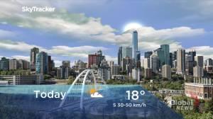 Edmonton early morning weather forecast: Friday, September 17, 2021 (01:56)