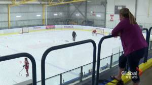 Calgary hockey parents not allowed to watch kids play, feel benched (02:12)