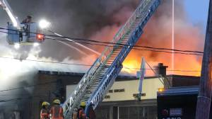 West Island Assistance Fund building in Pierrefonds-Roxboro destroyed in major fire