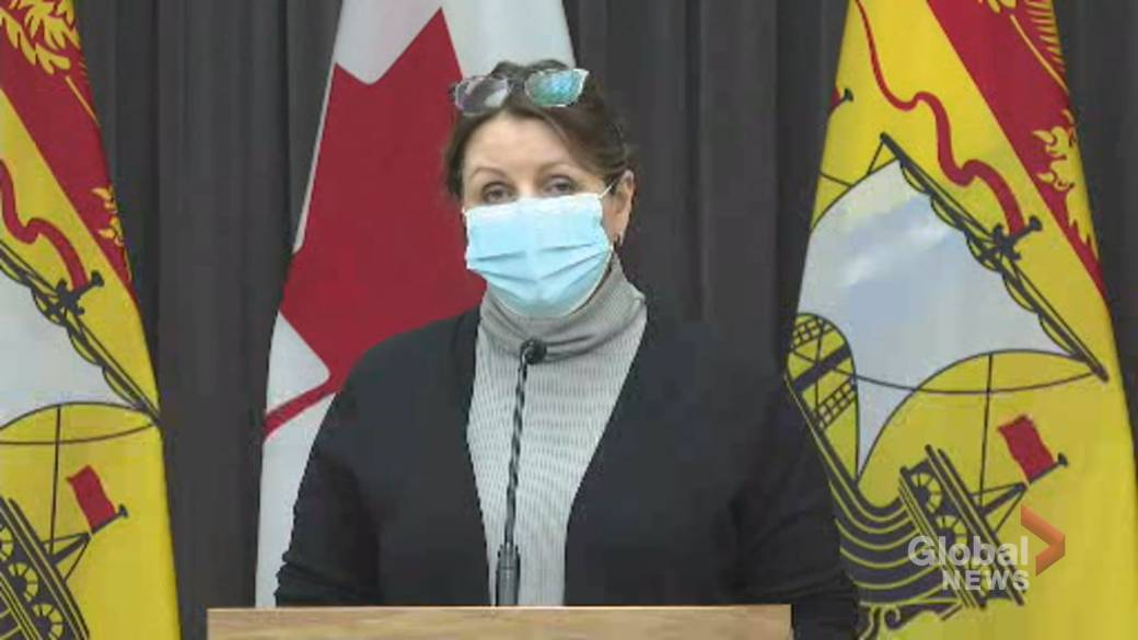 Click to play video 'Coronavirus: New Brunswick to move Moncton, Fredericton regions to Yellow alert level'