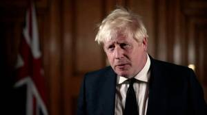 UK's Boris Johnson pays tribute to murdered MP David Amess: 'A much-loved friend' (02:04)