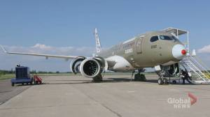 Bombardier parts ways with its aviation division
