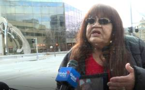 Cody Severight's grandmother reacts to the sentencing of former Winnipeg police officer Justin Holz
