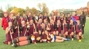 Regiopolis beat Holy Cross 2-1 to capture the Kingston high school field hockey championship