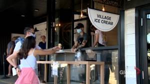 Calgary ice cream shops increase safety measures after COVID-19 closure