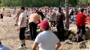 Pierrefonds-Roxboro mayor concerned with overcrowding at Cap St. Jacques Beach (01:49)