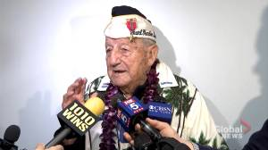 98-year-old Pearl Harbor survivor says attack was like 'a bad dream'