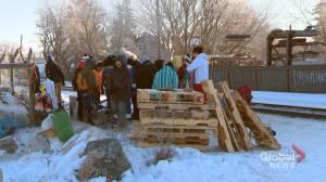 Saskatoon Wet'suwet'en solidarity camp taken down