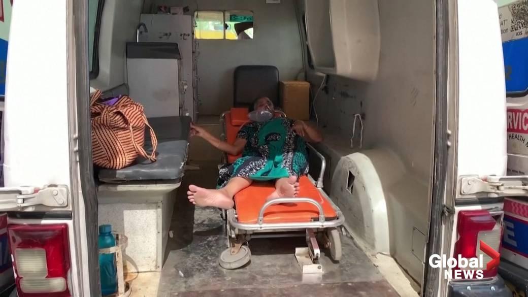 Click to play video: 'India's COVID-19 crisis slams Ahmedabad hospital'