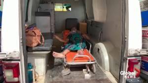 India's COVID-19 crisis slams Ahmedabad hospital (02:49)