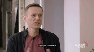 Navalny makes first video appearance since coma, alleges Putin ordered his poisoning
