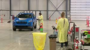 How drive-thru coronavirus testing will work in Saskatchewan