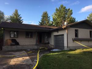 Calgary house fire due to lightning strike: CFD
