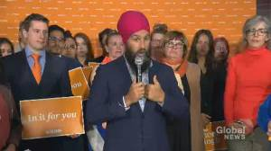 Federal Election 2019: Singh outlines steps he'll take to keep drugs affordable under CUSMA