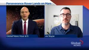 Alberta geologist set to work on NASA Mars mission (03:23)