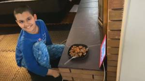B.C. company comes to aid of special needs child who loves discontinued waffles (02:13)
