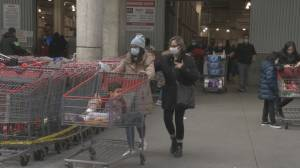 New Costco Canada policy requires masks or face shields for entry (02:06)