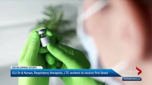 Alberta to begin coronavirus vaccine rollout next Wednesday as 1,460 new cases of COVID-19 reported (02:41)